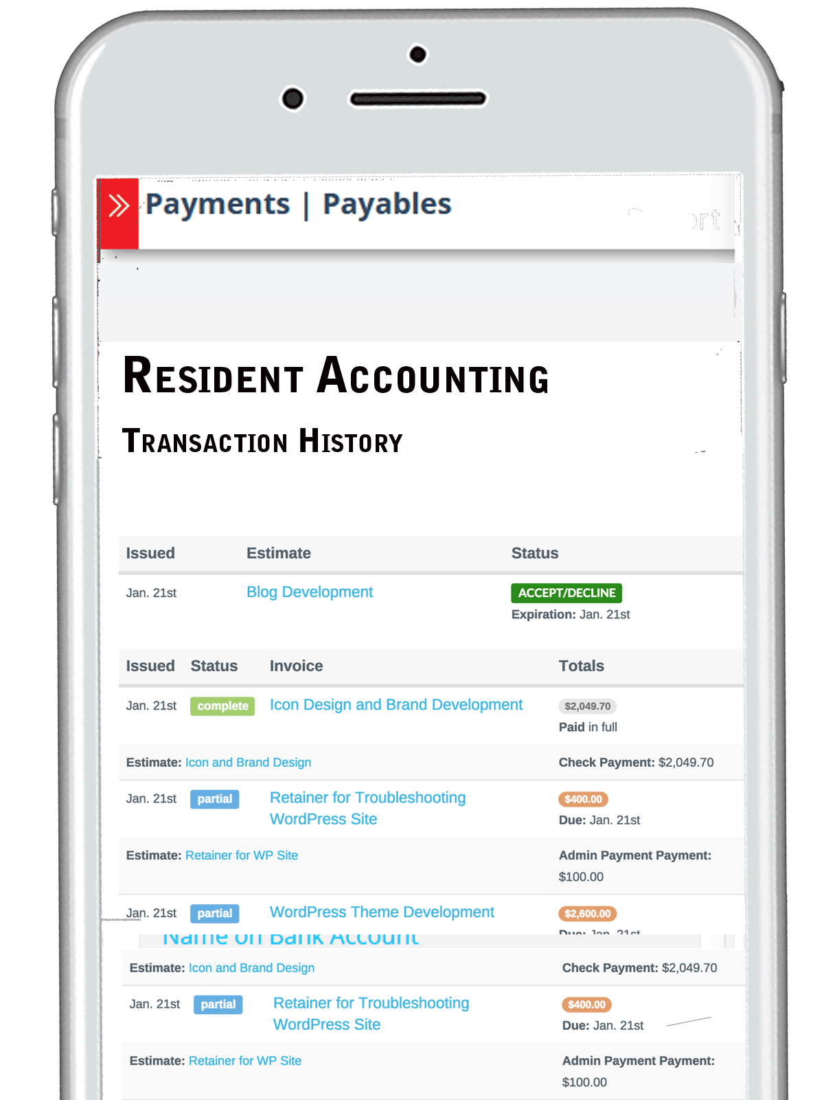 ResidentCentral - Community Accounting